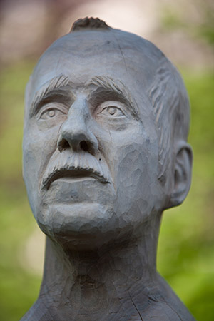 Holzschnitzerei, Portrait